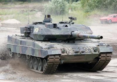 Leopard 2A6 Tank Amerika