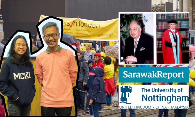 p university of nottingham removing dato seri najib razak s portrait at the university of nottingham