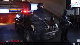 """بالفيديو..ليلة البوناني.. هكذا تمت الإطاحة بـ""""بزناز"""" وحجز كمية من الكوكايين بكازا"""