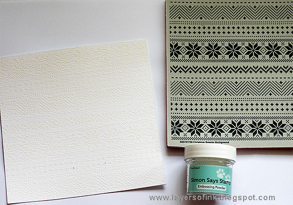 Layers of ink - World Cardmaking Day Tutorial by Anna-Karin, with Simon Says Stamp Exclusives