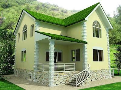 Desain Terbaru Rumah Minimalis Sederhana Lokasi Pojok Paling Nyaman Ditempati 2