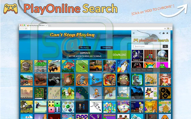 PlayOnline Search (Adware)