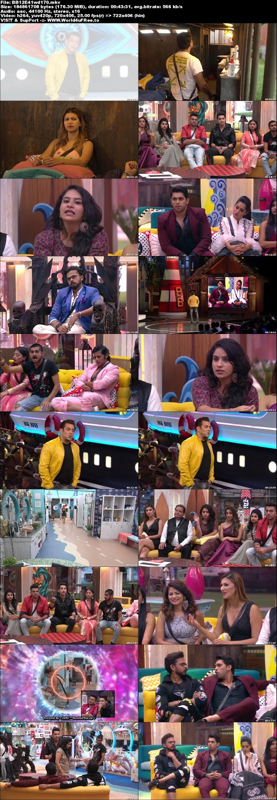 Bigg Boss 12 Episode 41 27 October 2018 WEBRip 480p 170Mb x264 world4ufree.fun tv show Episode 41 27 October 2018 world4ufree.fun 200mb 250mb 300mb compressed small size free download or watch online at world4ufree.fun