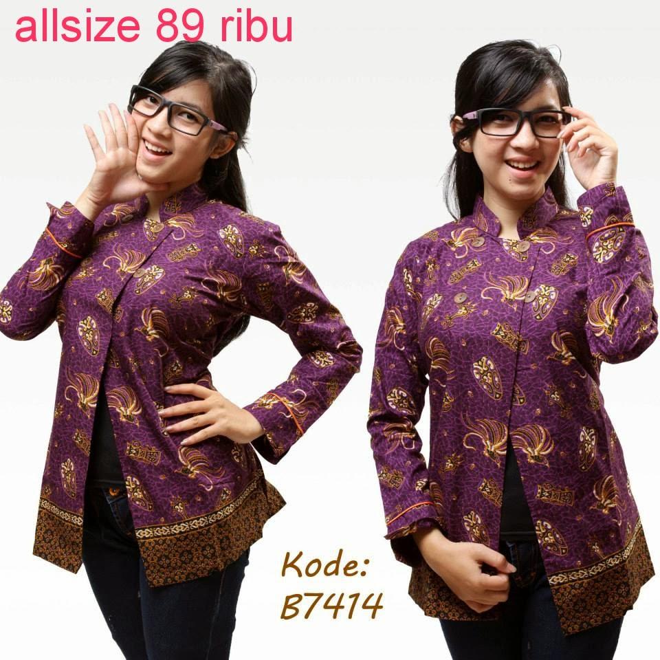 Online Shop Baju Batik Kerja: Model Baju Batik Untuk Kerja