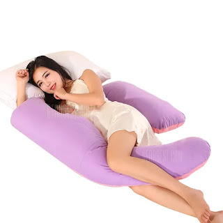 The u-shaped body pregnancy pillow