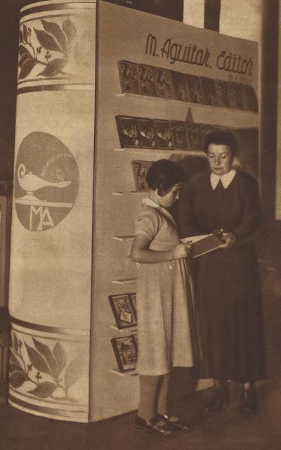 Elena Fortún -I Exposición del Libro Infantil 1935