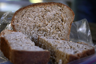 whole wheat oatmeal sandwich bread