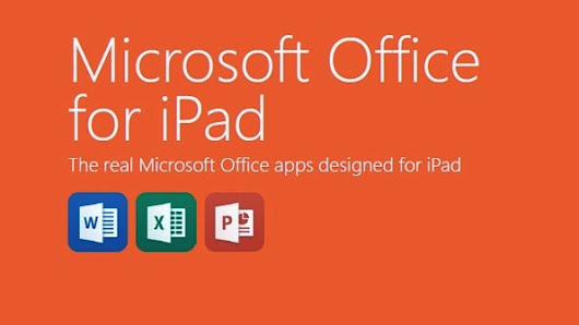 MS Office for iPad Launched by Microsoft - Technosurfer