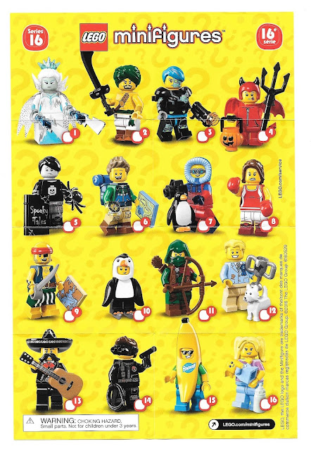 The Minifigure Collector: Lego Minifigure Series 1 -18, Ninjago ...