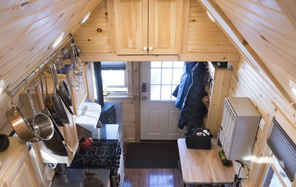 A Tiny House in Maine 220 Sq Ft TINY HOUSE TOWN