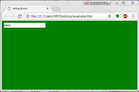 javascript-onkeydown-event-example