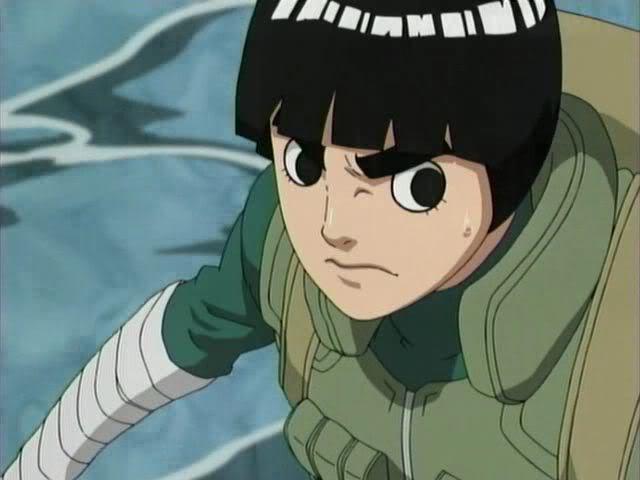 228Pelea Rock Lee Naruto Shippuden Identi