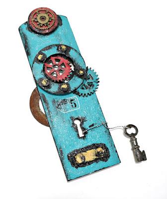 Grungy Blue Door #5 by Dana Tatar for Tando Creative