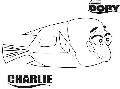 Charlie buscando Dory