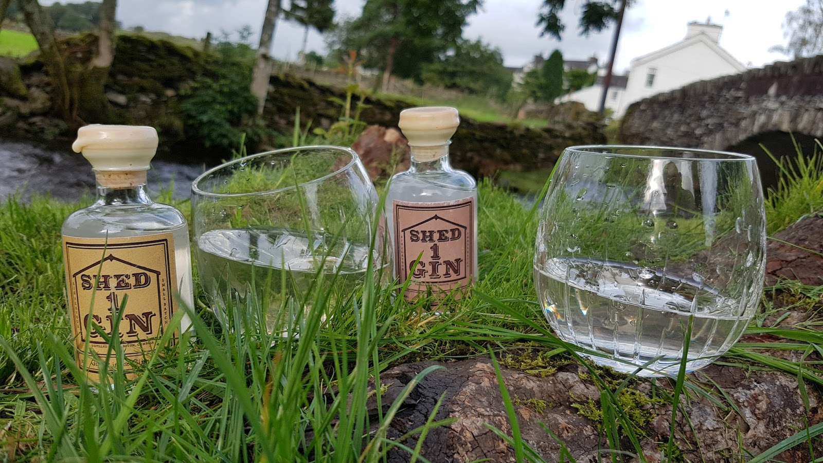 Great british escapades for Garden shed gin