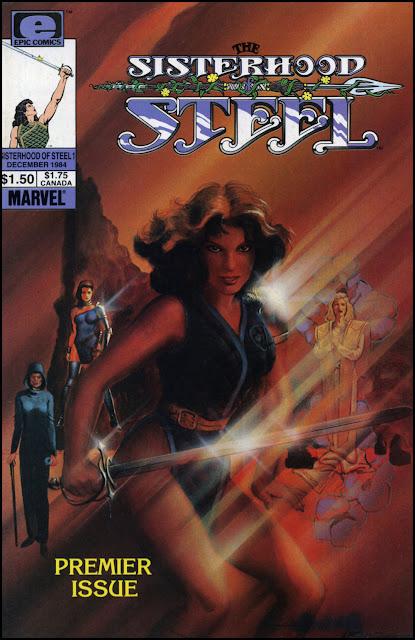 Marvel Comics of the 1980s: 1983 - The Sisterhood of Steel #1
