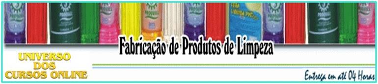 →Curso Completo de Fabricação de Produtos de Limpeza e Higiene