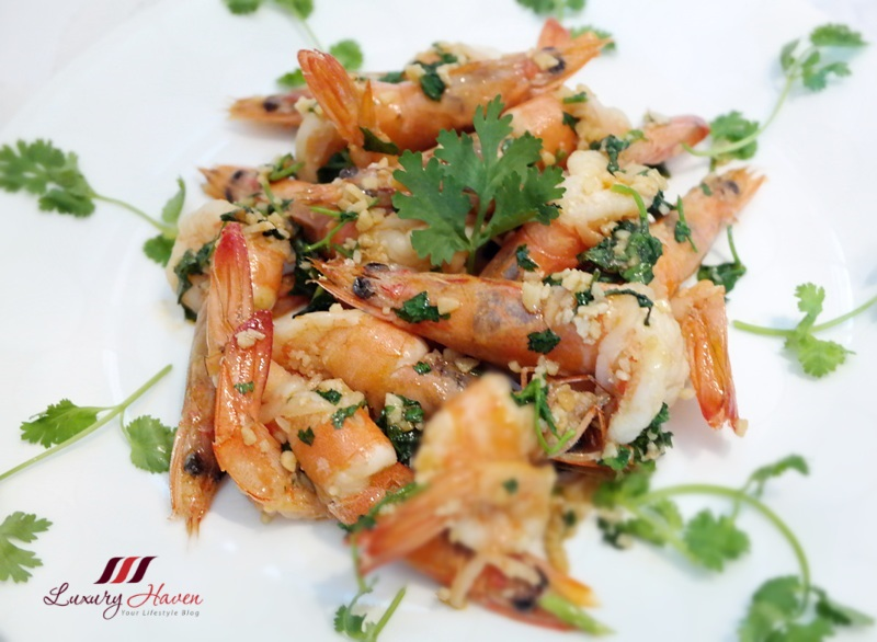 asian food channel lemon butter garlic shrimps recipe