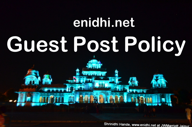 eNidhi India Guest Post Acceptance Policy - eNidhi India
