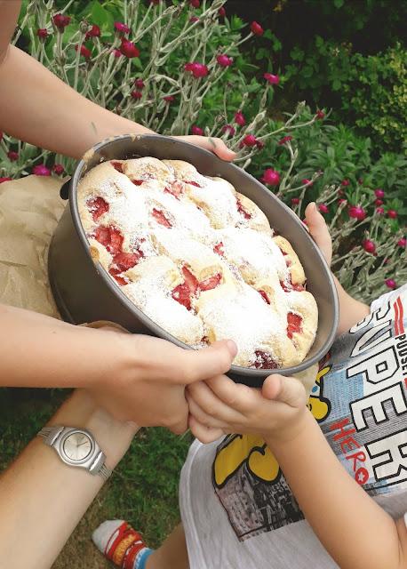 truskawkowe ciasto
