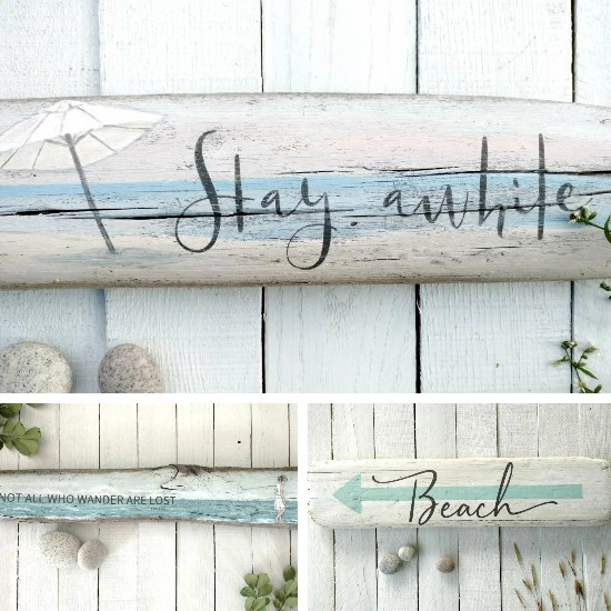 Driftwood Beach Art