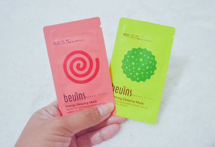Beuins Sleeping Mask, Beuins clay mask, korean sleeping mask