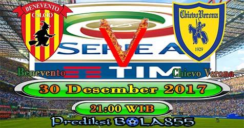 Prediksi Bola855 Benevento vs Chievo 30 Desember 2017