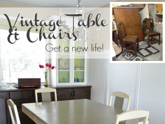Old Violet's Side Kick {The Dining Table}