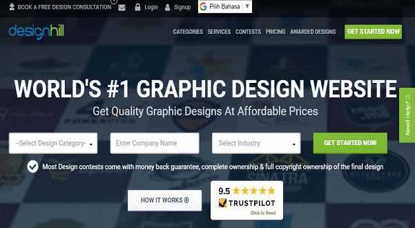 situs terbaik mengikuti lomba design kontes
