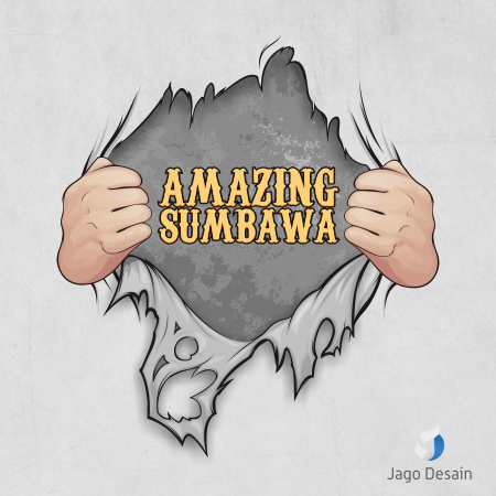 Desain Kaos Amazing Sumbawa 1
