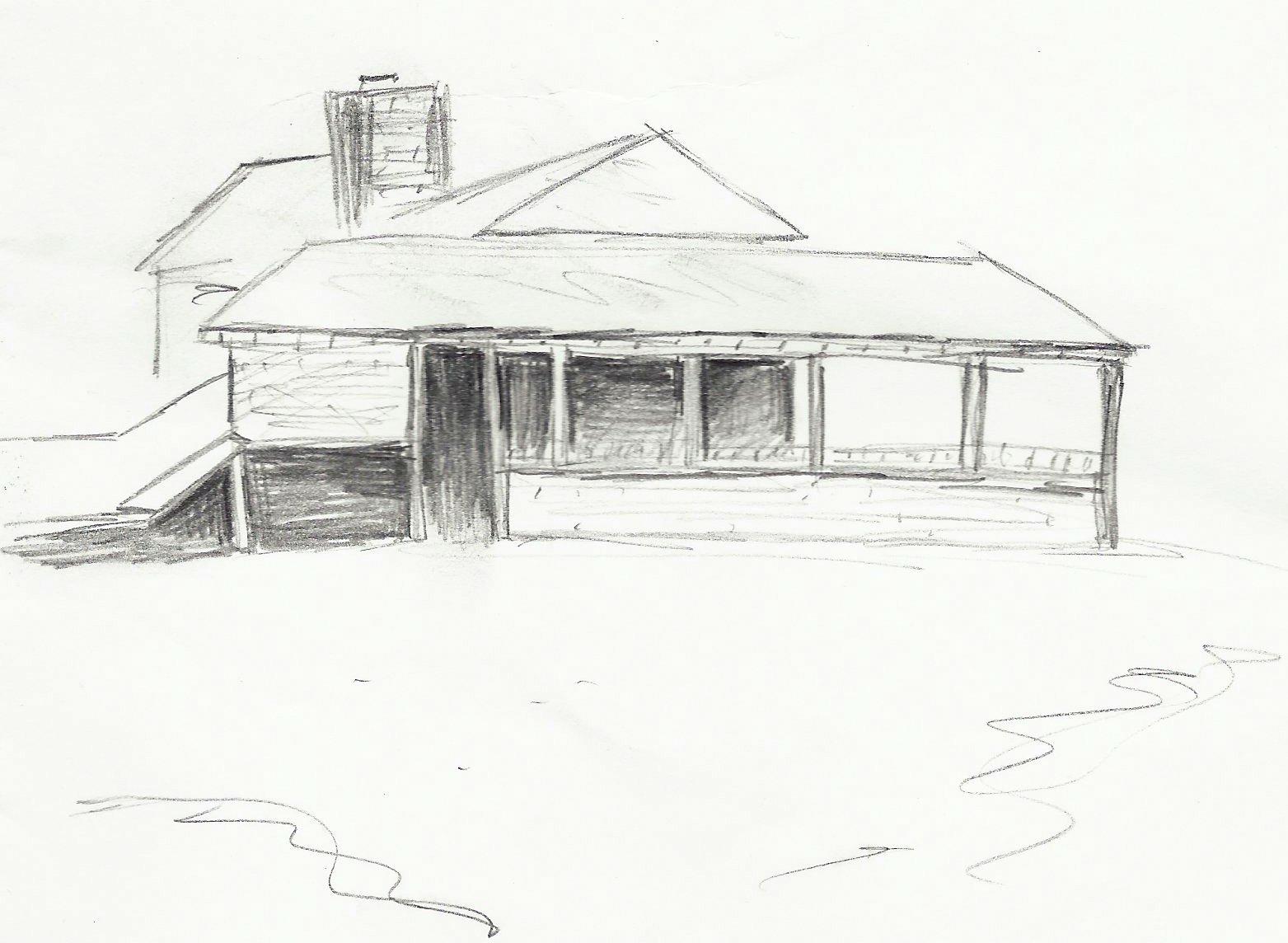 Empire Mine Sketch