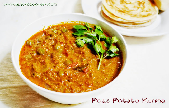 Peas Potato Kurma Recipe