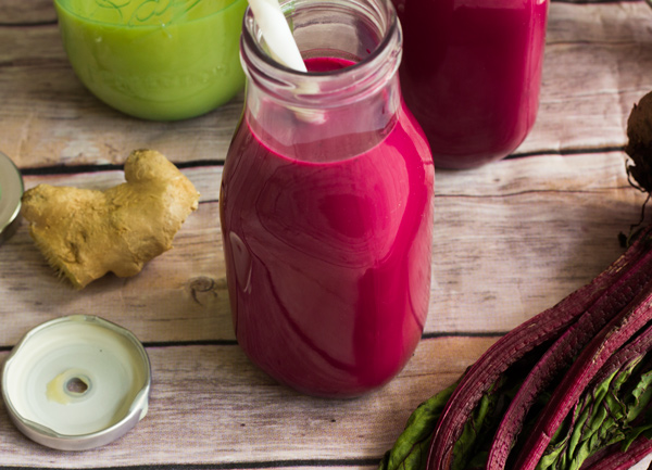 How to make beet root punch from the Caribbean