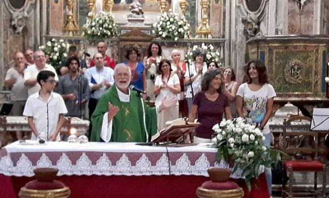 Unioni civili: Palermo festeggia Elisabetta e Serenella, anche il Parroco le sostiene