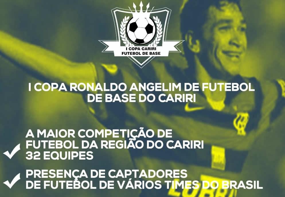Juazeiro do Norte sediará I Copa Ronaldo Angelim de Futebol de Base do  Cariri e1e4e03a61d25