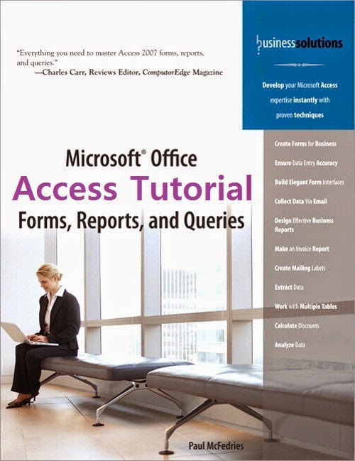 Microsoft Access Database Tutorial Cover