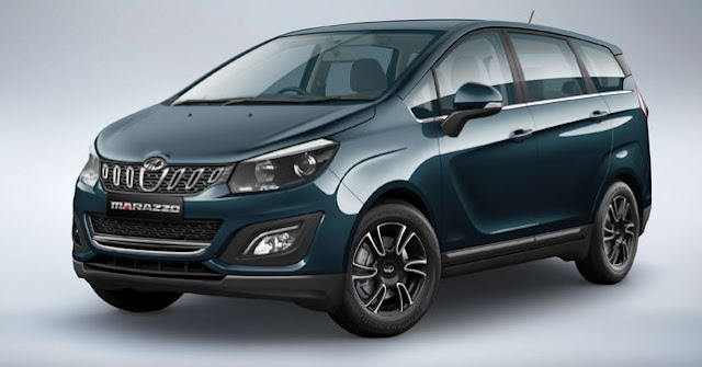 New Mahindra Marazzo MPV Vehicle