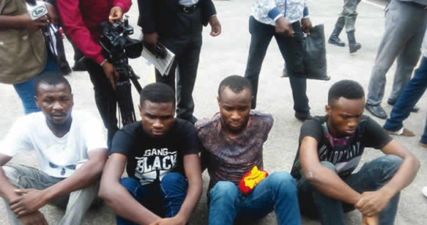 Mr 2Kay's Robbery: Burna Boy's Road Manager Paraded Among Suspects