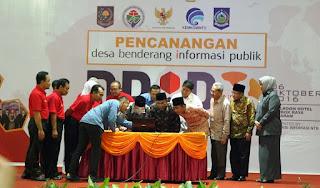 Gubernur NTB Canangkan Program Desa Benderang Informasi Publik