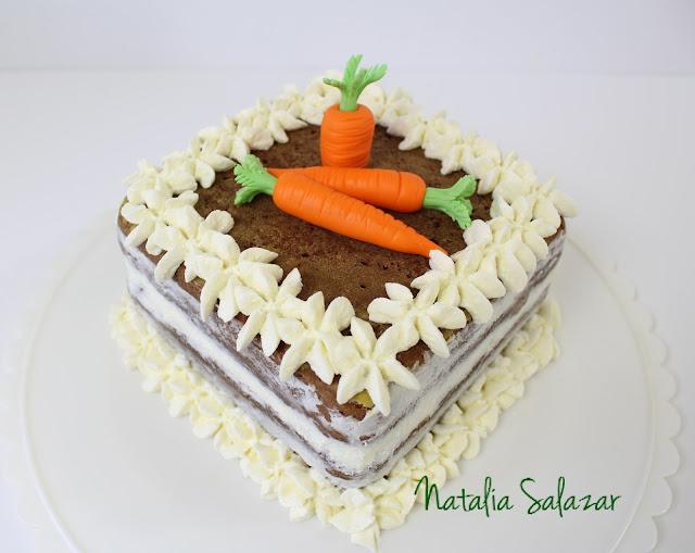 como hacer torta de zanahoria o carrot cake