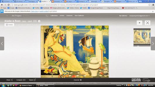 lyra panganiban google  essay 1 ariadne in naxos 1925 1926 by joseph edward southall