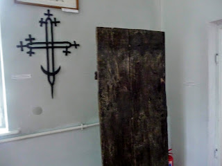 Руда. Музей Ивана Выговского. Крест церкви Рождества Пр. Богородицы