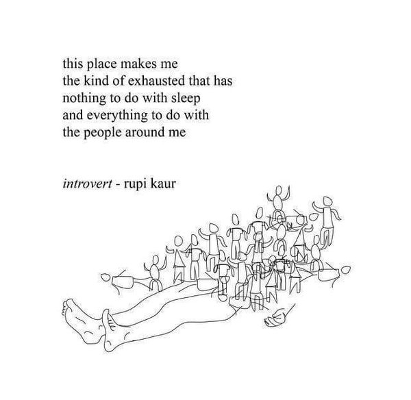 Rupi Kaur Quotes Simple Auntie Nettie's Attic Quote Of The Day Introvert By Rupi Kaur