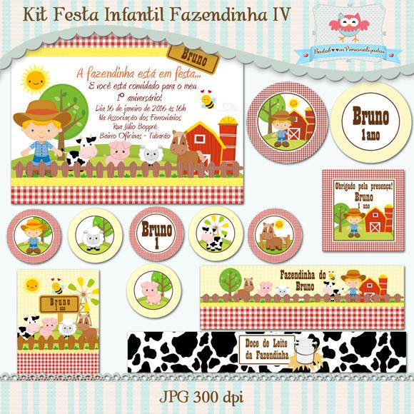 kit digital, artes digitais, convite, topper, min to be, tags, rótulos, guloseimas, fazenda, fazendinha, fazendeiro, festa infantil, menino