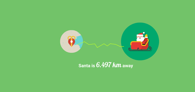 Santa por Google en Cambridge