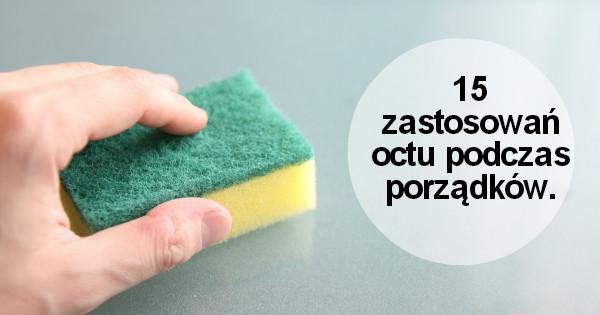 Sposoby na tanie i szybkie sprzątanie  ocet pani domowa