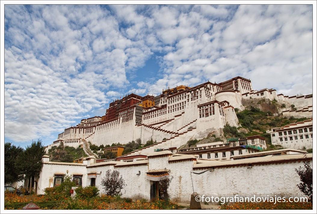 Palacio de Potala en Lhasa, Tibet