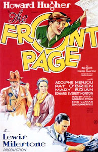 The Front Page Poster