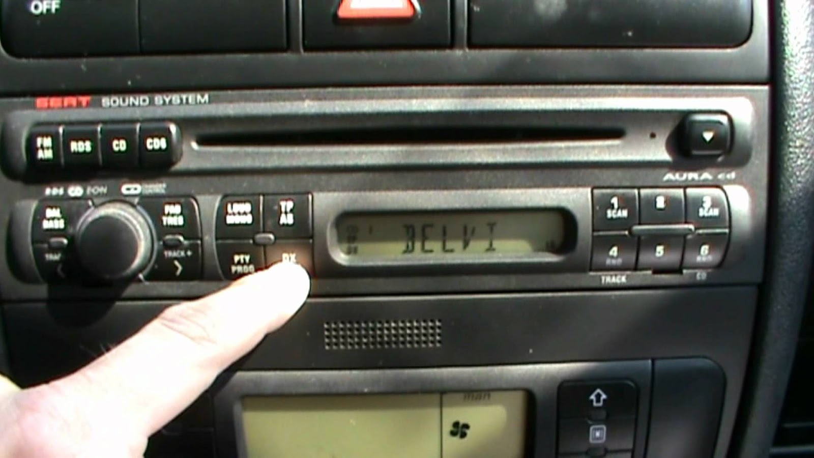 how to reset seat leon car stereo radio unit remove. Black Bedroom Furniture Sets. Home Design Ideas