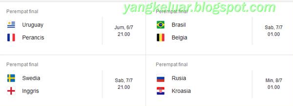 perempat final piala dunia 2018